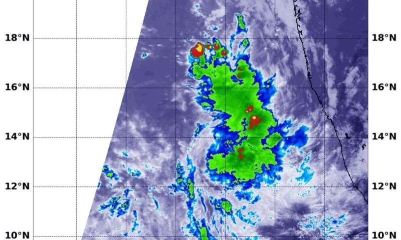 NASA finds wind shear battering tropical cyclone 07A