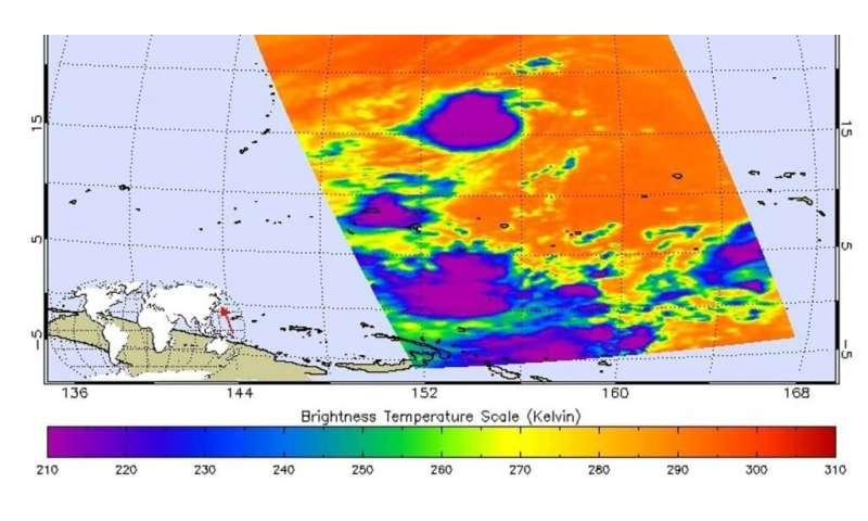 NASA infrared data shows strength in Fengshen