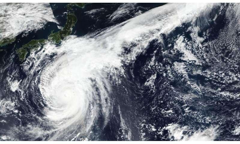 ماهواره ناسا-NOAA Suomi NPP به 3 مدار برای دیدن انواع اشکال Super Typhoon Hagibis نیاز داشت