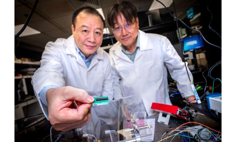 NTU Singapore researchers create quantum chip 1,000 times smaller than current setups