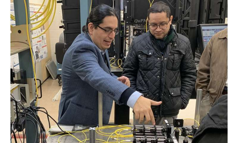 Research team expands quantum network with successful long-distance entanglement experiment