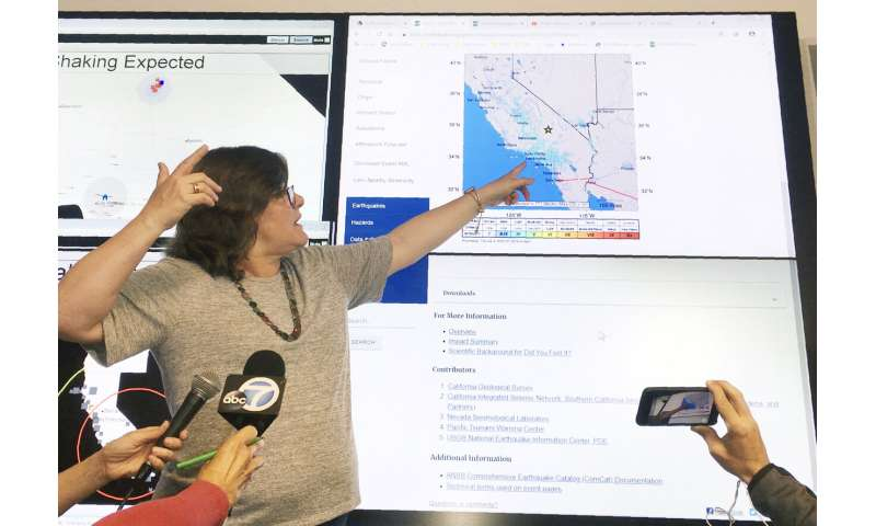 Strongest earthquake in 20 years rattles Southern California (Update)
