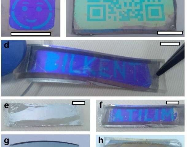 Researchers use metamaterials to create two-part optical security features