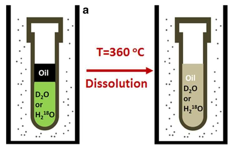Scientists dissolve crude oil in water to study its composition