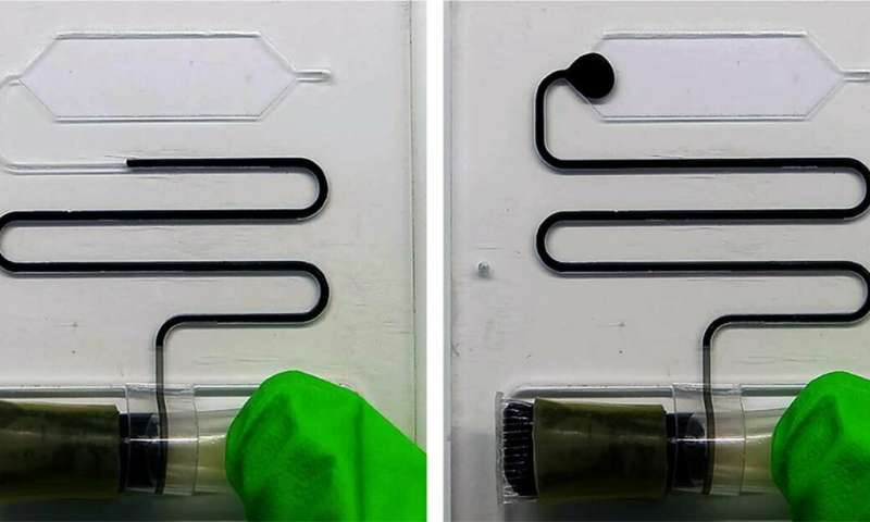 Micro-dispenser for long-term storage and controlled release of liquids