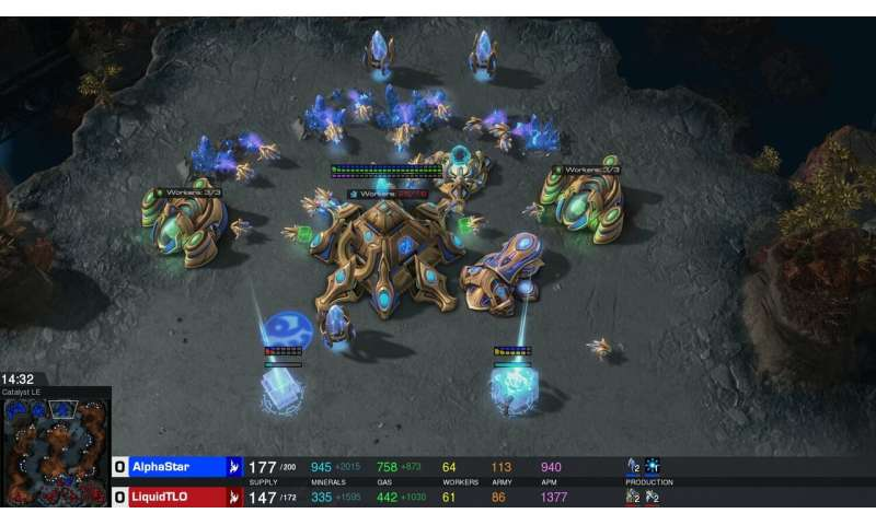 AlphaStar hungry for world domination in StarCraft II fights