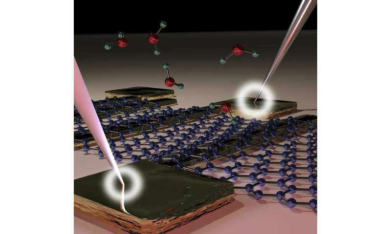 Waterproof graphene electronic circuits