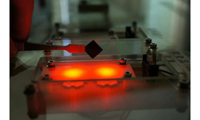 Supercapacitor material with energy density 2.7 times higher than conventional materials