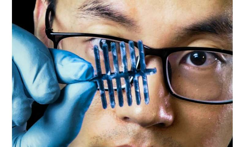 New cellulose-based material represents three sensors in one