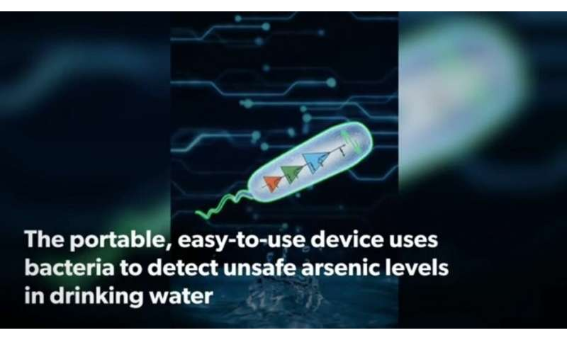 Smartphone test spots poisoned water risk to millions of lives