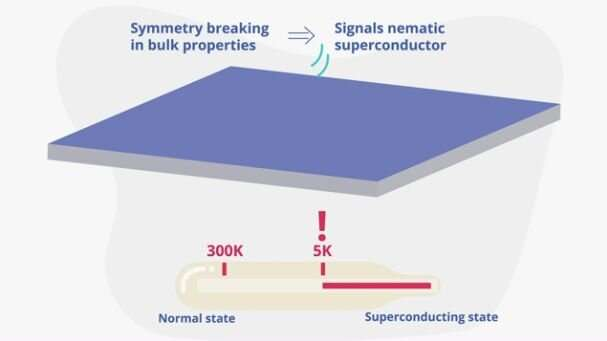 **Unexpected properties uncovered in recently discovered superconductor