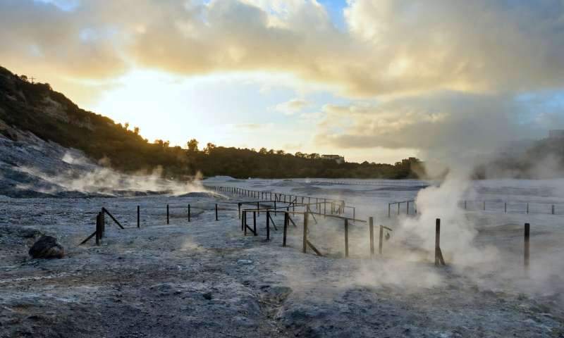 Sound of the sea solves decades-old supervolcano mystery