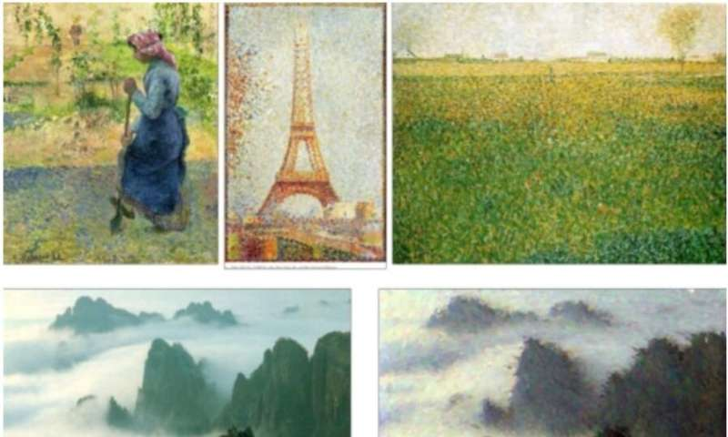 PaintBot: A deep learning student that trains then mimics old masters