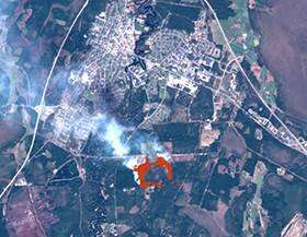 Satellite data and AI help fight Sweden's forest fires