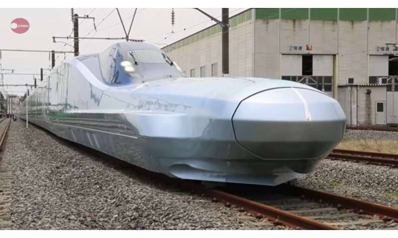 Bullet train champion in Japan will debut in 2030, now being tested