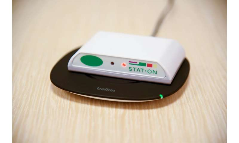 UPC- STAT-ON, a new device that helps monitor the symptoms of patients with Parkinson's