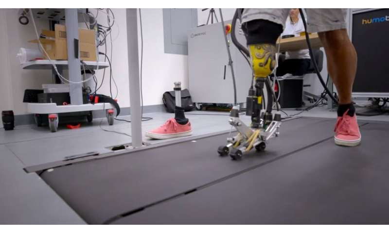 A prosthetic foot that tackles tough terrain