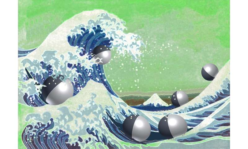 Diffusing wave paradox may be used to design micro-robotics