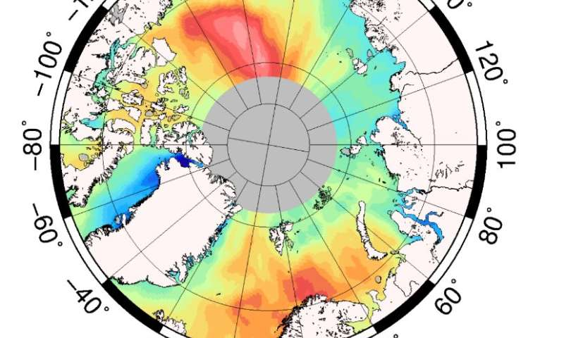 New study reports sea level rise in the Arctic