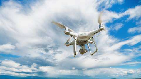 Drone expert to develop technology that can measure objects as small as 0.5cm through water