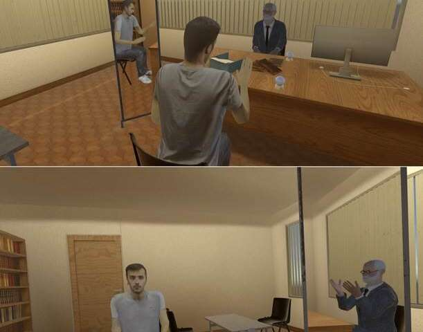 Virtual reality to solve personal problems