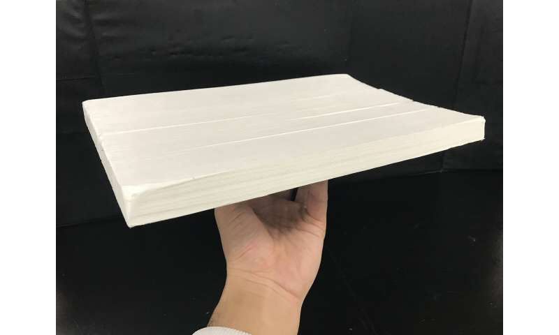 New wood membrane provides sustainable alternative for water filtration