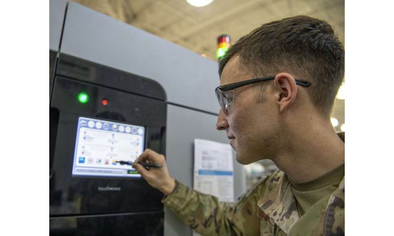 Air Force certifies first 3-D printed nonstructural aircraft parts