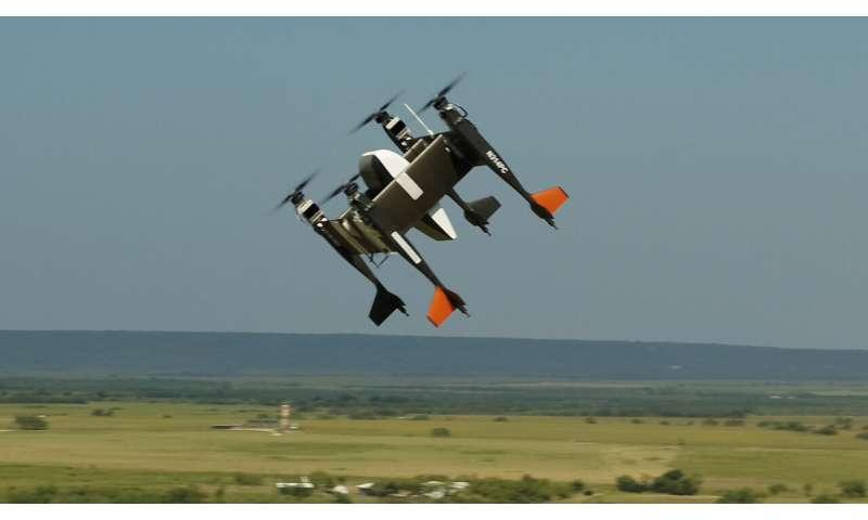 Bell sees nimble autonomous cargo vehicle in flight