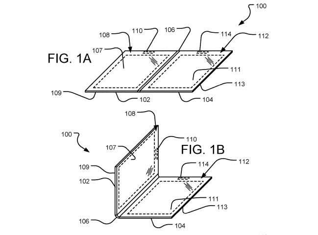 Microsoft patent talk includes foldable with electromagnetic coil