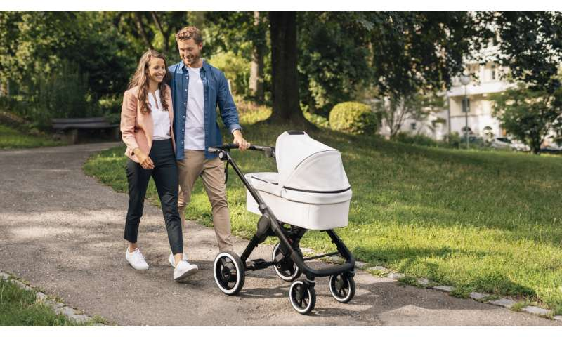 Baby strollers will get a Bosch push in tech features