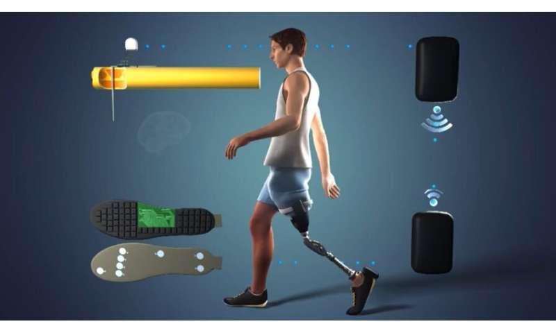 Feeling legs again improves amputees' health