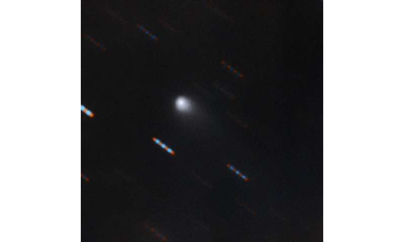 Gemini observatory captures multicolor image of first-ever interstellar comet