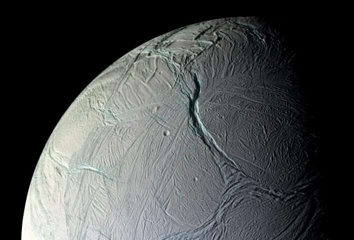 'Snow-cannon' Enceladus shines up Saturn's super-reflector moons