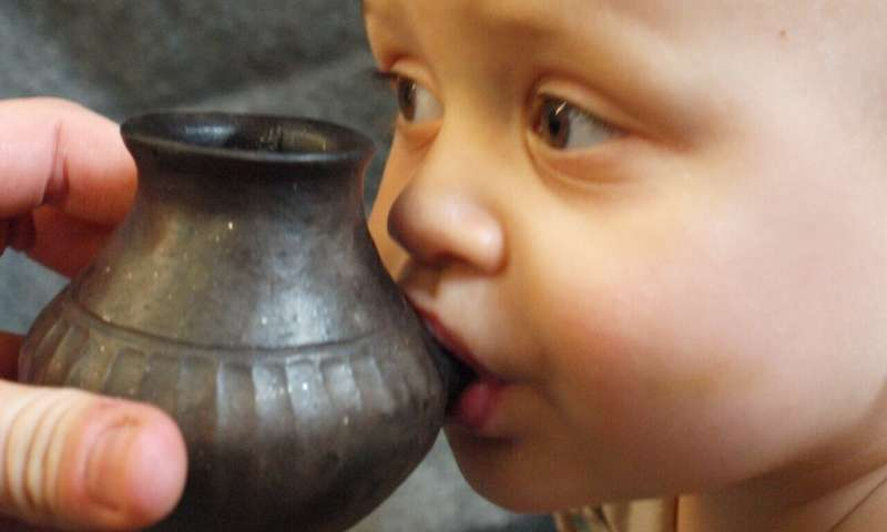 First evidence for early baby bottles used to feed animal milk to prehistoric babies