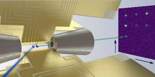 Researchers can now place single ions into solids