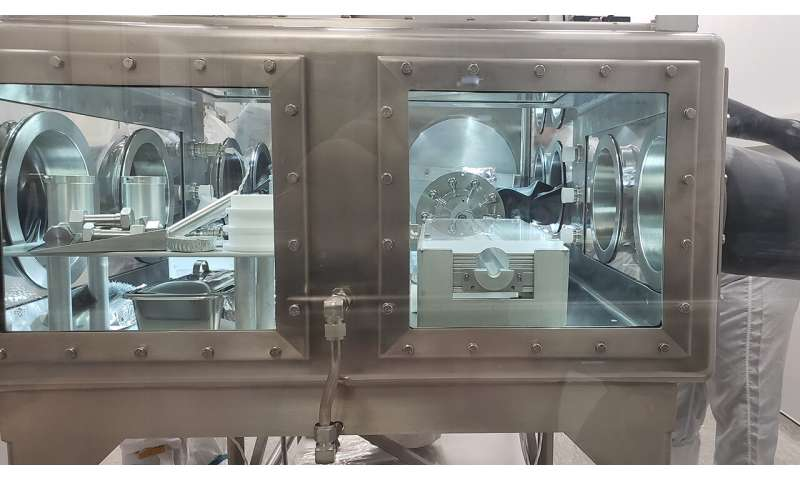 NASA opens sealed Apollo sample ahead of Artemis missions