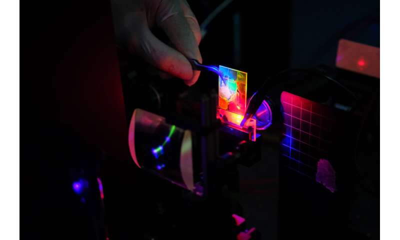 **Quantum dot lasers move a step closer with electric-pumping development