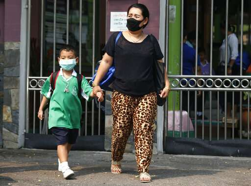 Bangkok schools closed over air pollution concerns
