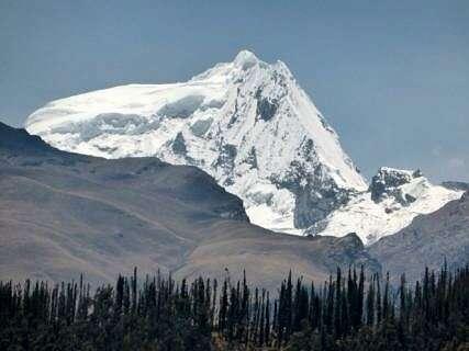 Disappearing Peruvian glaciers