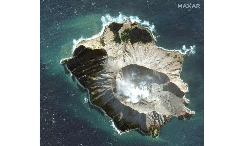 Dozens feared dead in eruption of New Zealand volcano