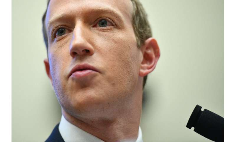 Facebook chairman Mark Zuckerberg, pictured October 2019, has said the Libra cryptocurrency will not be launched until it receiv