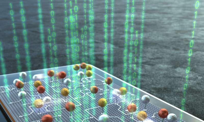 Nanoparticle computing takes a giant step forward