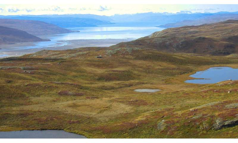 New evidence shows rapid response in the West Greenland landscape to Arctic climate shifts