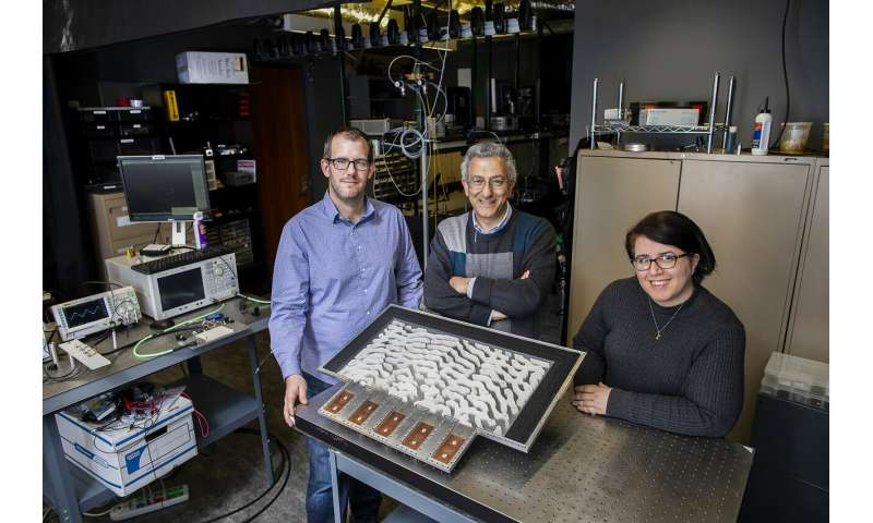 Penn engineers demonstrate metamaterials that can solve equations