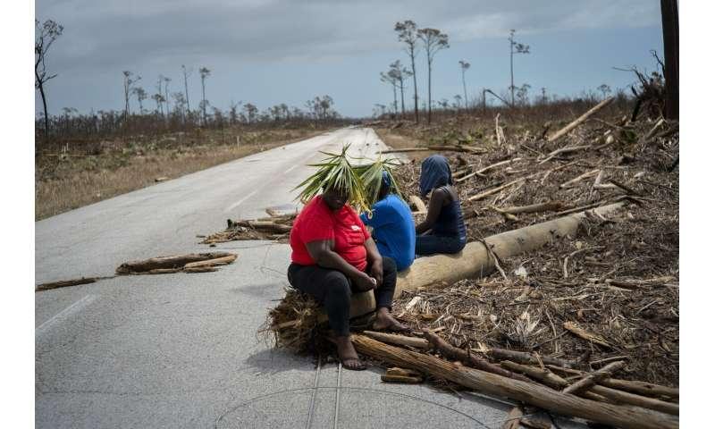 Hurricane Dorian howling over North Carolina's Outer Banks
