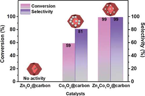 Scientists develop non-precious metal catalytic system for high efficiency hydrogenation of nitroarenes