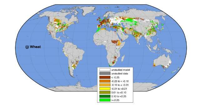 Climate change is already affecting global food production -- unequally