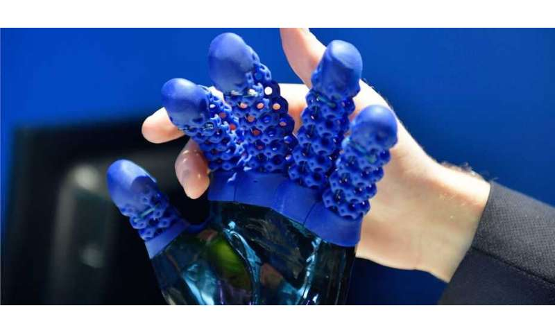 3-D printing of silicone components