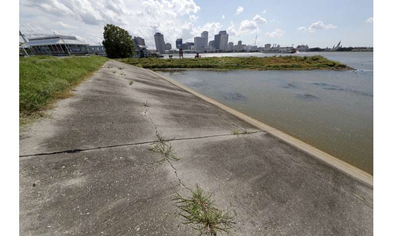Flooded Mississippi a threat as hurricane season heats up