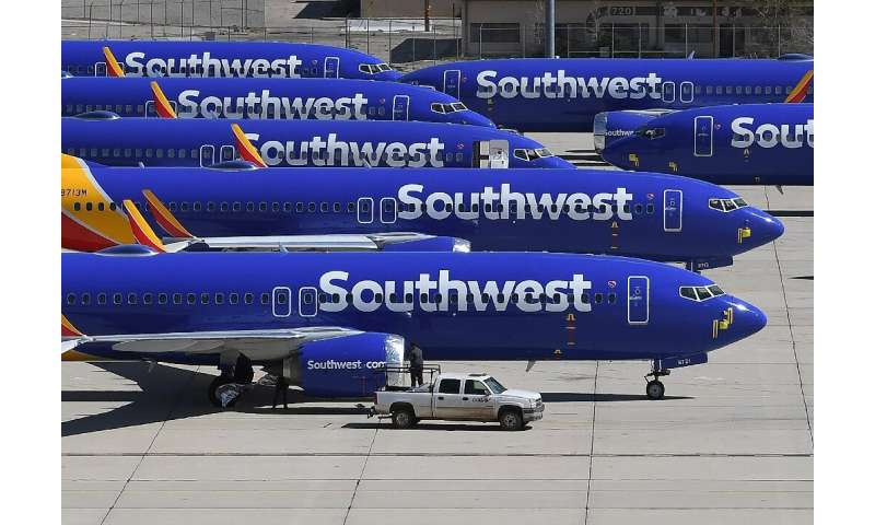 Southwest Airlines again extended the timeframe for resuming flights on the Boeing 737 MAX, this time until mid-April 2020